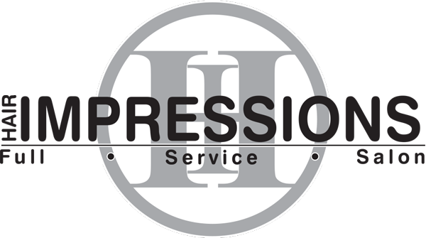 hair impressions salon logo